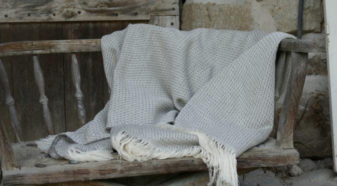 Nouveau : Plaid en laine